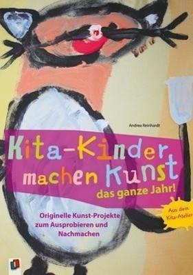 Kita-Kinder machen Kunst das ganze Jahr!