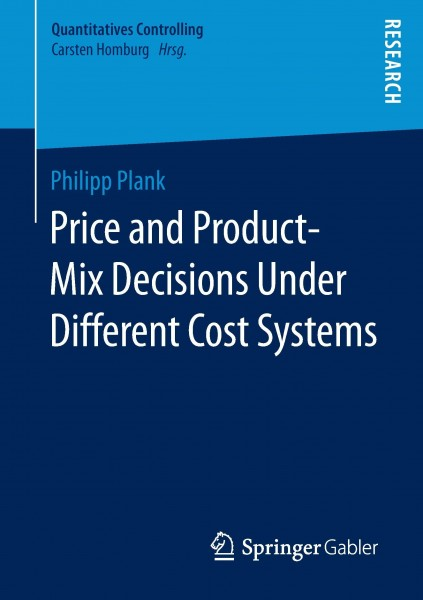 Price and Product-Mix Decisions Under Different Cost Systems