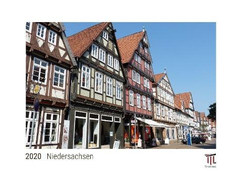 Niedersachsen 2020 - White Edition - Timokrates Wandkalender, Bilderkalender, Fotokalender - DIN A3