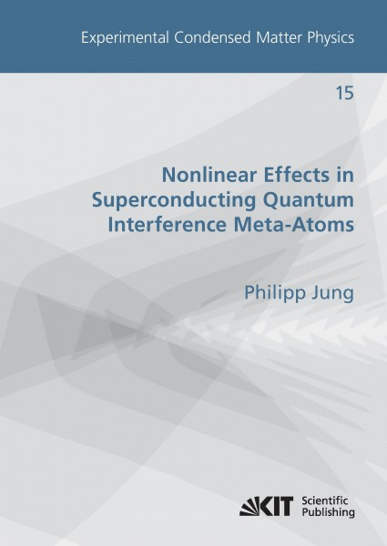 Nonlinear Effects in Superconducting Quantum Interference Meta-Atoms