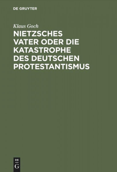 Nietzsches Vater