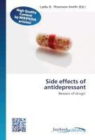 Side effects of antidepressant