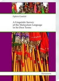 A Linguistic Survey of the Malayalam Language in Its Own Terms