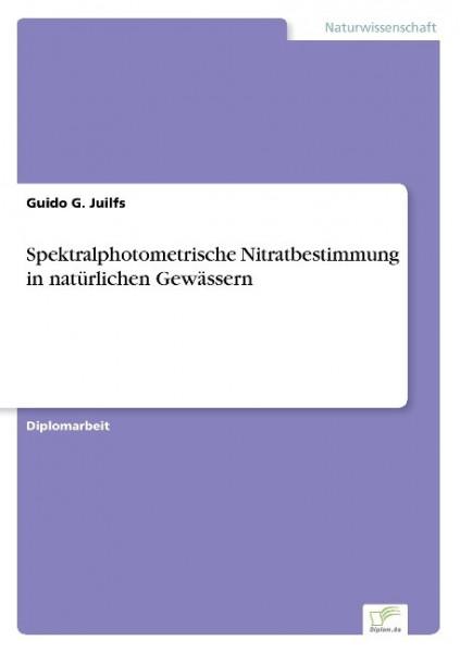 Spektralphotometrische Nitratbestimmung in natürlichen Gewässern