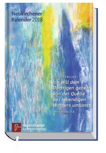 Neukirchener Kalender 2018 - Buchausgabe in großer Schrift