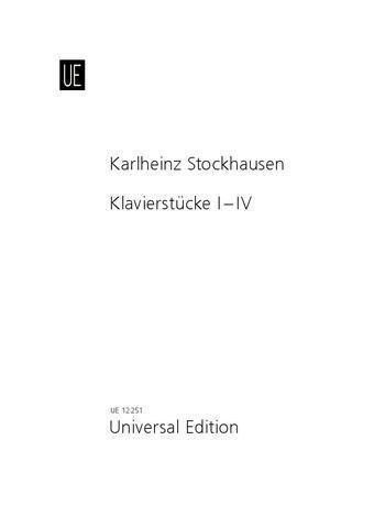 Klavierstücke I-IV