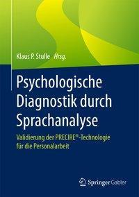 Psychologische Diagnostik durch Sprachanalyse