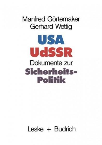 USA - UdSSR