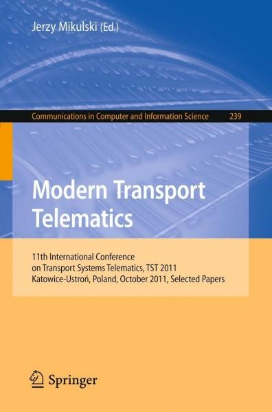 Modern Transport Telematics