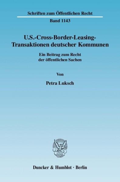 U.S.-Cross-Border-Leasing-Transaktionen deutscher Kommunen