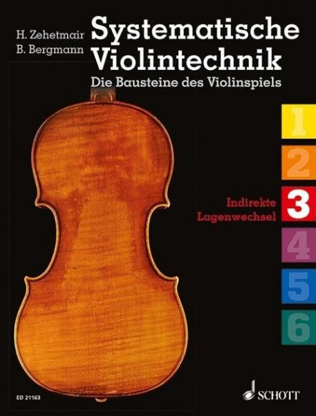 Systematische Violintechnik. Die Bausteine des Violinspiels Band 03