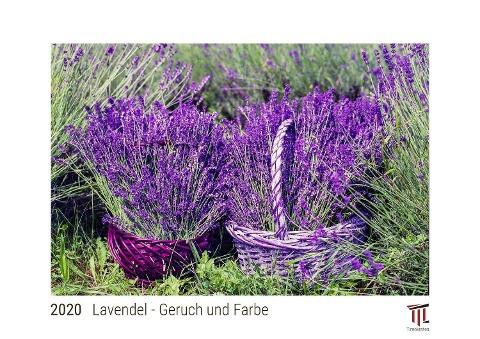Lavendel - Geruch und Farbe 2020 - White Edition - Timokrates Kalender, Wandkalender, Bildkalender -