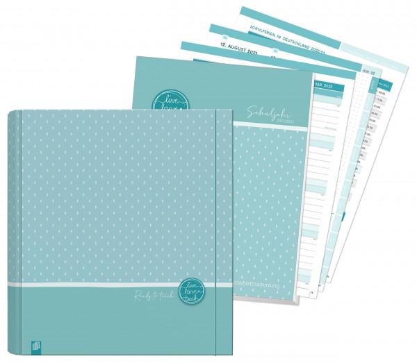 Paket: Mein Lehrerplaner A4+, Loseblattsammlung im Ringordner - Lehrerkalender für das Schuljahr 2021/2022 - Schulplaner für Lehrerinnen & Lehrer