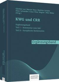 KWG und CRR. Ergänzungsband