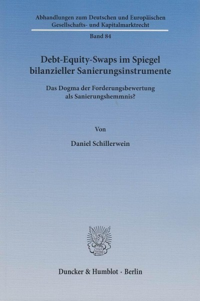 Debt-Equity-Swaps im Spiegel bilanzieller Sanierungsinstrumente