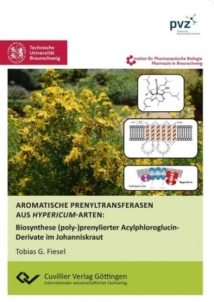 Aromatische Prenyltransferasen aus Hypericum-Arten