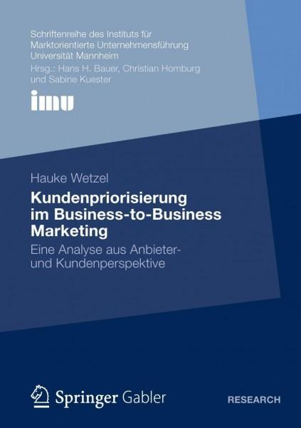 Kundenpriorisierung im Business-to-Business Marketing