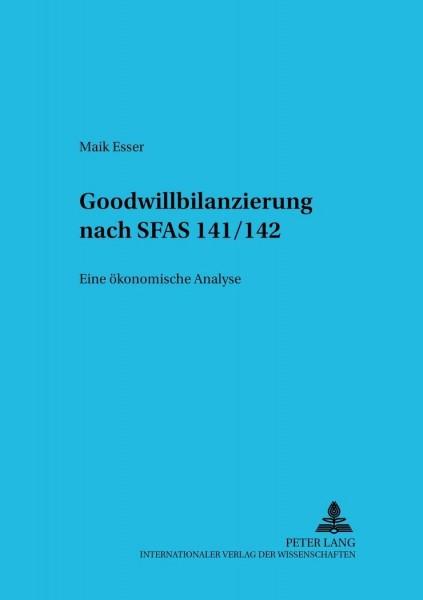 Goodwillbilanzierung nach SFAS 141/142