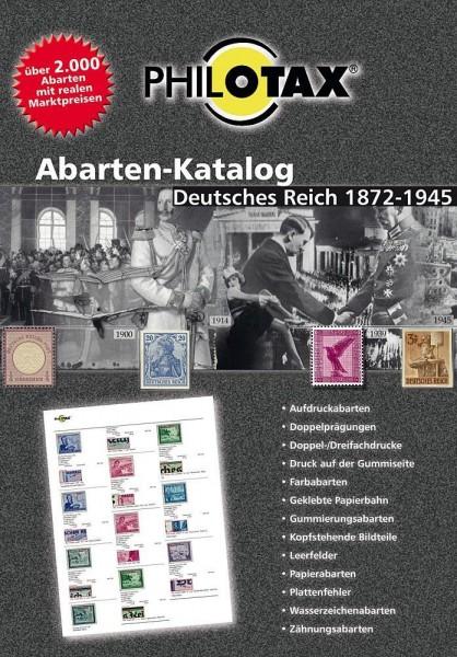Abarten-Katalog Deutsches Reich 1872-1945