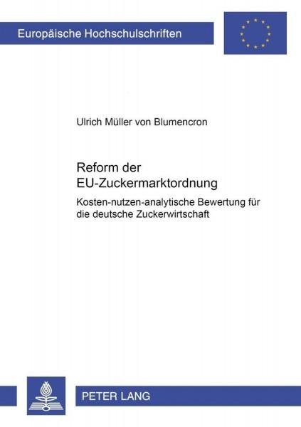 Reform der EU-Zuckermarktordnung