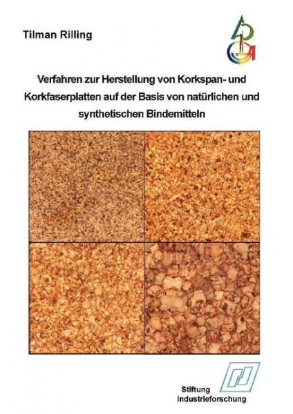 Verfahren zur Herstellung von Korkspan- und Korkfaserplatten auf der Basis von natürlichen und synth