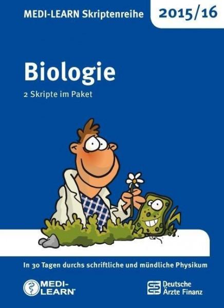 MEDI-LEARN Skriptenreihe 2015/16: Biologie im Paket