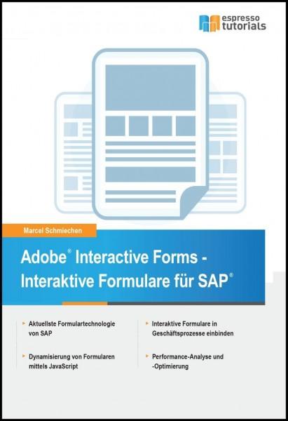 Adobe Interactive Forms - Interaktive Formulare in SAP