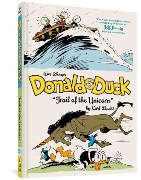 Walt Disney's Donald Duck Trail of the Unicorn: The Complete Carl Barks Disney Library Vol. 8