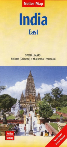 Nelles Map India: East 1:1 500 000