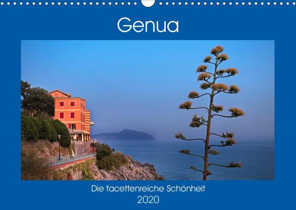 Genua - Die facettenreiche Schönheit (Wandkalender 2020 DIN A3 quer)