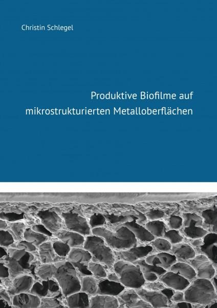 Produktive Biofilme auf mikrostrukturierten Metalloberflächen