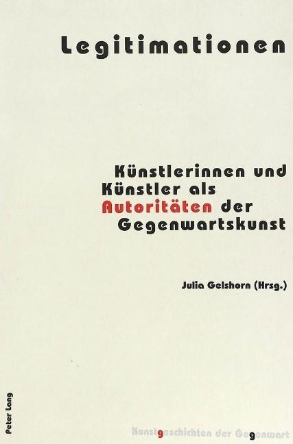 Legitimationen - Gelshorn, Julia