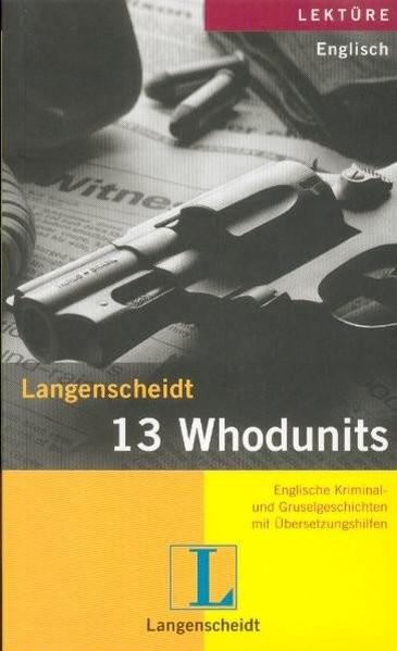 13 Whodunits
