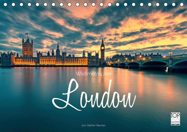 Weltmetropole London (Tischkalender 2020 DIN A5 quer)