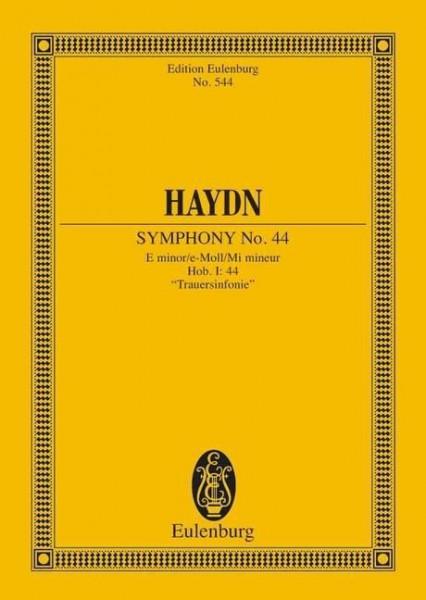 Sinfonie Nr. 44 e-Moll