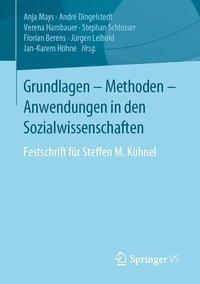 Grundlagen - Methoden - Anwendungen in den Sozialwissenschaften