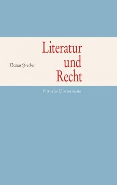 Literatur und Recht