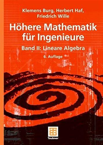 Höhere Mathematik für Ingenieure 2