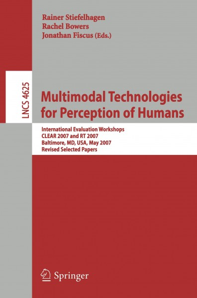 Multimodal Technologies for Perception of Humans