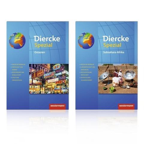 Diercke Spezial - Aktuelle Ausgabe für die Sekundarstufe II. Paket Subsahara-Afrika / Ostasien