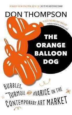 Orange Balloon Dog