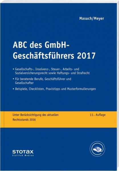 ABC des GmbH-Geschäftsführers 2017