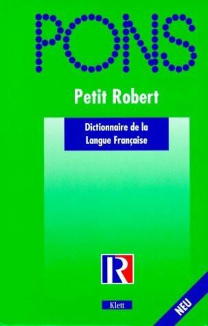 PONS Le Nouveau Petit Robert