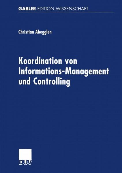 Koordination von Informations-Management und Controlling