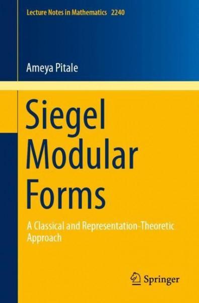 Siegel Modular Forms