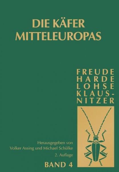 Die Käfer Mitteleuropas, Bd. 4: Staphylinidae (exklusive Aleocharinae und Pselaphinae)