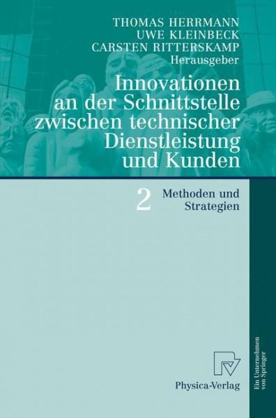 Innovationen an der Schnittstelle zwischen technischer Dienstleistung und Kunden 2