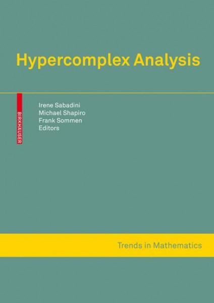 Hypercomplex Analysis