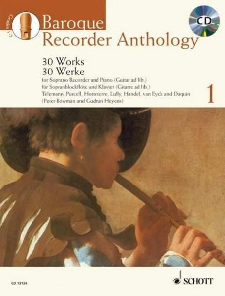 Baroque Recorder Anthology Vol. 1