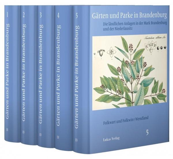 Gärten und Parke in Brandenburg / 5 Bände